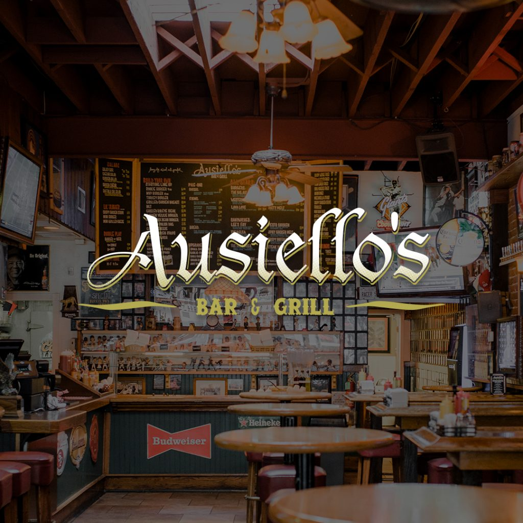 Ausiellos Bar and Grill Web Design By Optimize Giant