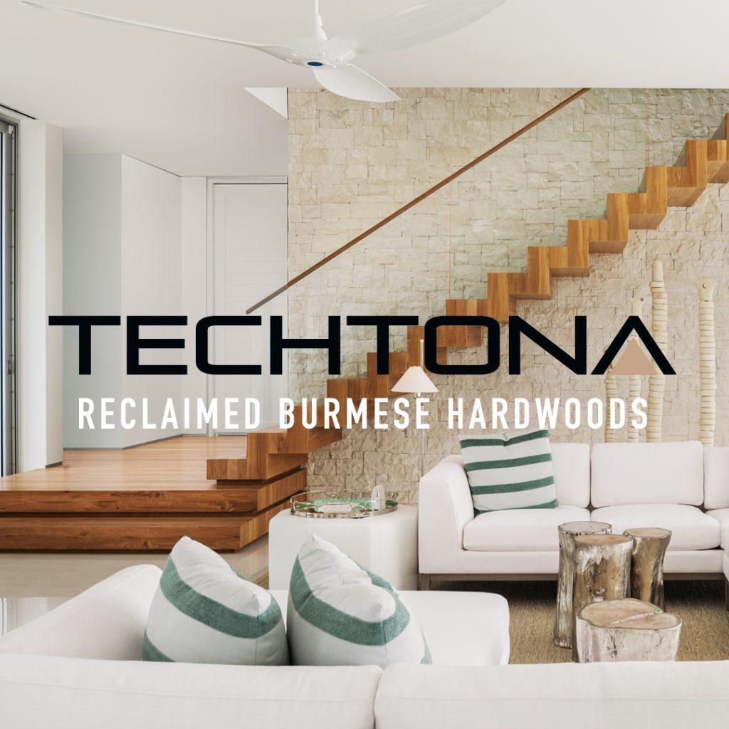 Techtona Reclaimed Teak Flooring Web Design by Optimize Giant
