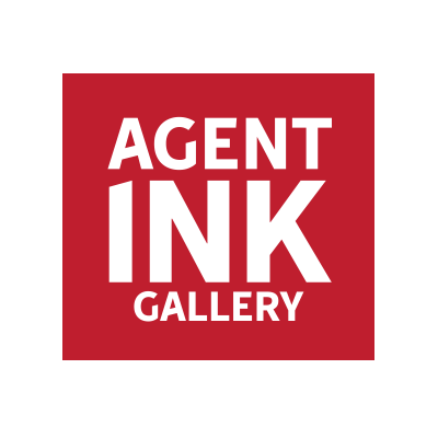 Agent Ink Gallery Logo Design By Optimize Giant