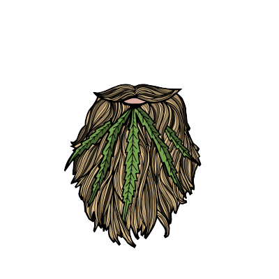 Bearded Buds Logo Design By Optimize Giant