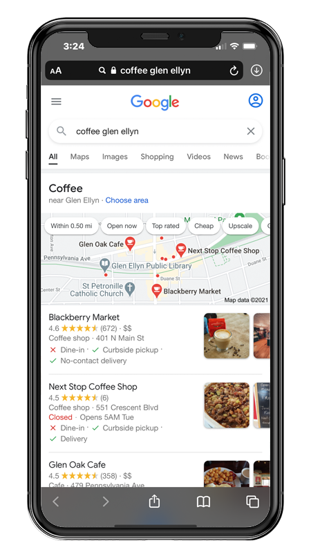 Google My Business Glen Ellyn